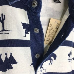 Structure Shirts - NWT Structure 90's Activewear Western Pullover XL